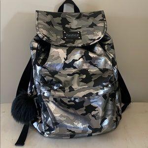 Metallic Camo Bookbag
